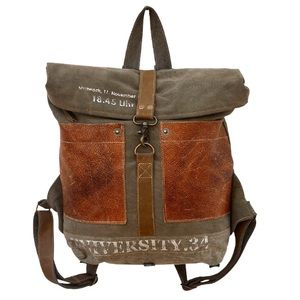 Handbags - NEW University Canvas Backpack